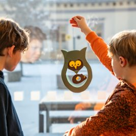 Barna kan lage sin egen ugle