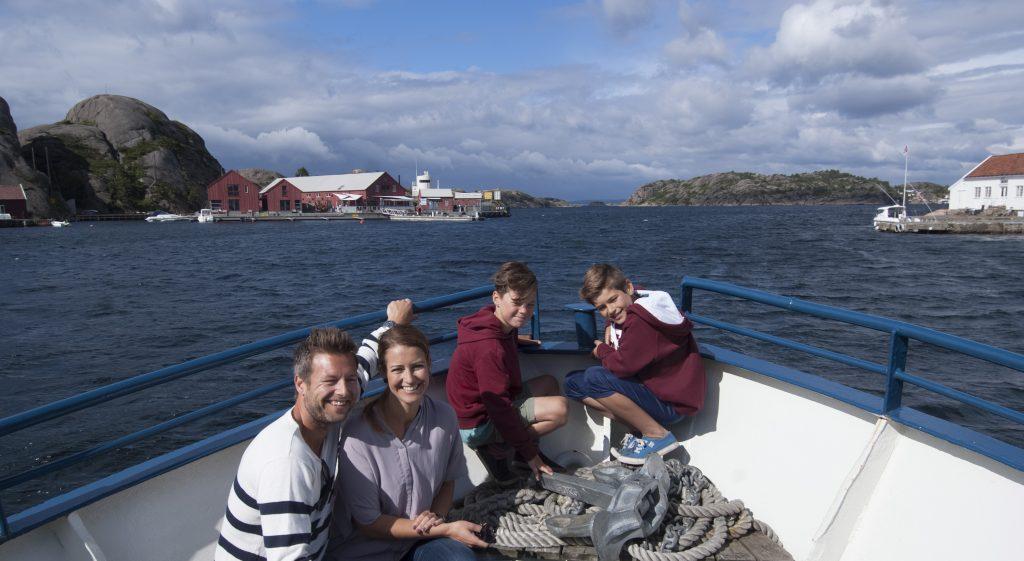 Opplev Kristiansandsskjærgården med båt. Foto: Peder Austrud©Visit Sørlandet