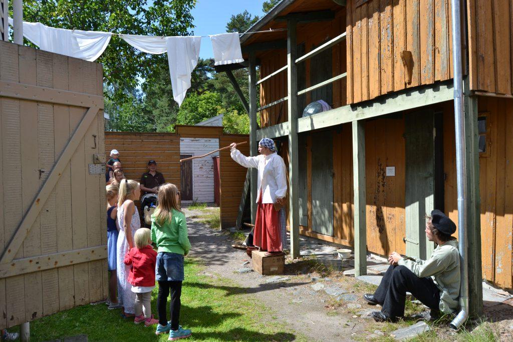 Familieteater på Kristiansand museum. Foto: Elisabeth Høibo©Visit Sørlandet