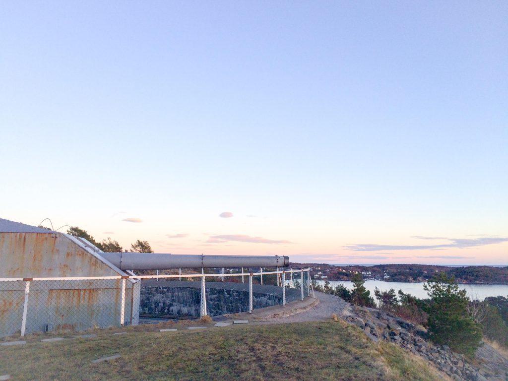 Kanonen på Kristiansand Kanonmuseum