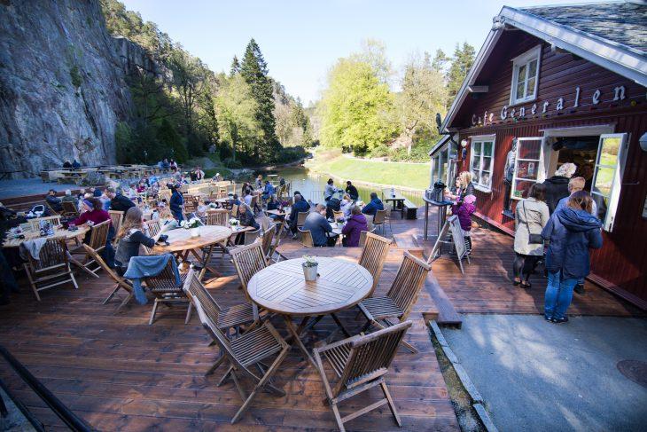 Cafe Generalen i Ravnedalen, Kristiansand - Foto Adam Read / Visit Sørlandet