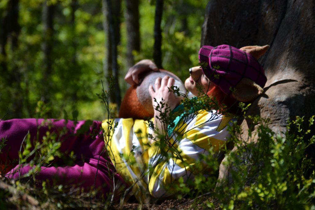 I Dyreparken kan du oppleve skuespillere i Hakkebakkeskogen | Foto: Elisabeth Høibo©Visit Sørlandet