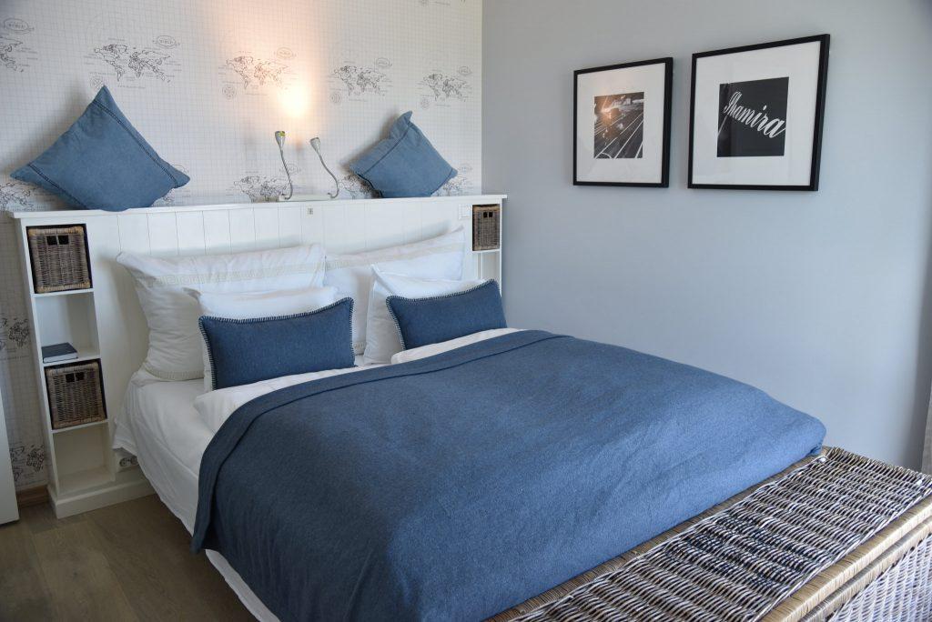 Lekre og innbydende rom på Strand Hotel Fevik. Foto: E. Høibo©Visit Sørlandet