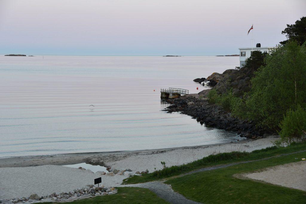 Fløyelsmyk kveld på Strand Hotel Fevik. Foto: Elisabeth Høibo©Visit Sørlandet