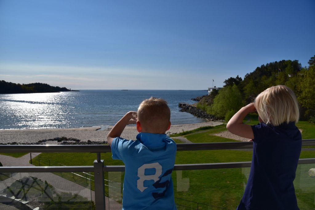 Nydelig utsikt å våkne opp til. Foto: Elisabeth Høibo@Visit Sørlandet