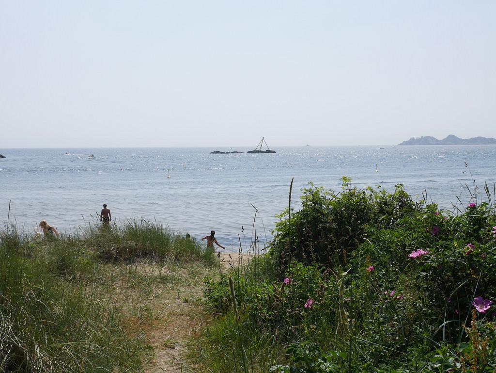 Sjøsanden - 800 meter med ren strandglede i Mandal