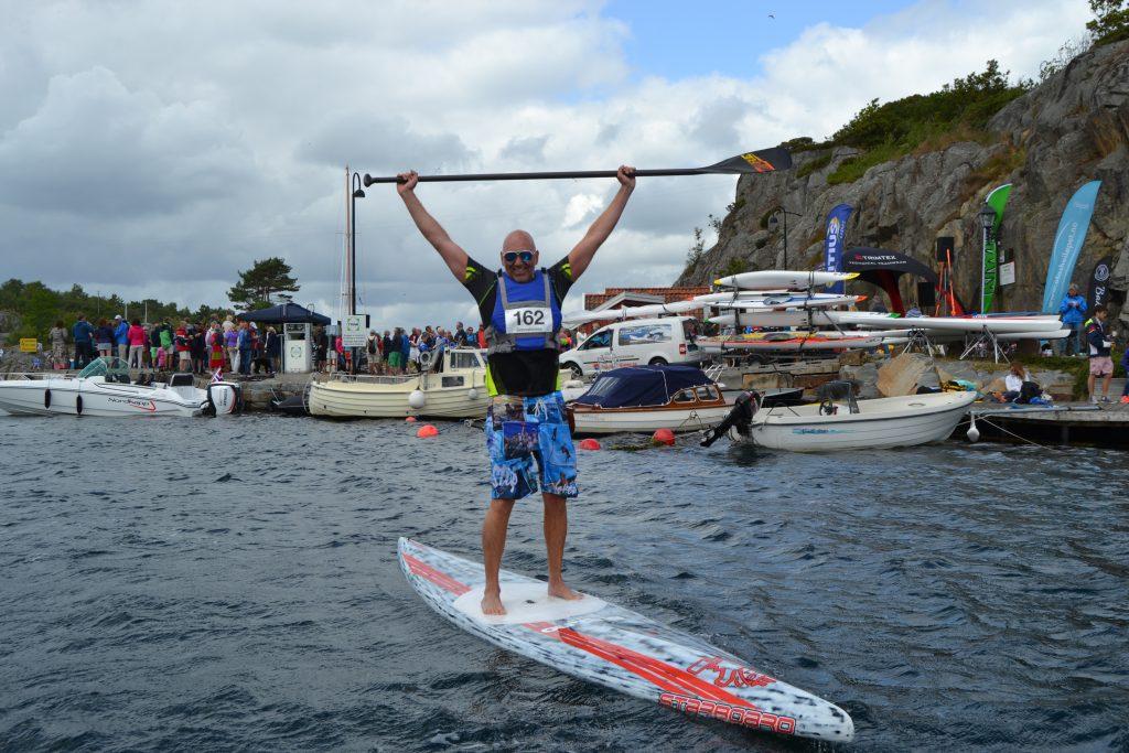 Det er mulig å delta i Blindleialøpet med SUP. Foto: Elisabeth Høibo©Visit Sørlandet