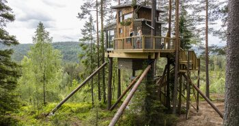 Tree houses in Gjerstad