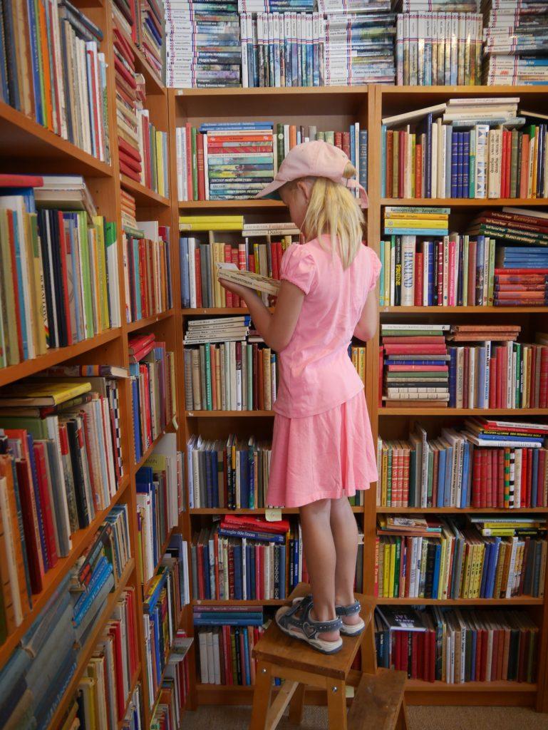 Barn og bøker. Blir ikke bedre.