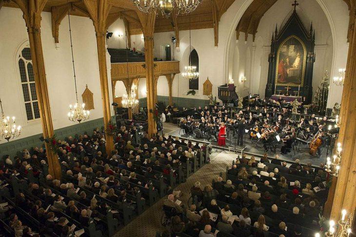 Julekonsert i Kristiansand Domkirke.