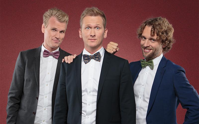 Julekonsert med Nordic Tenors.