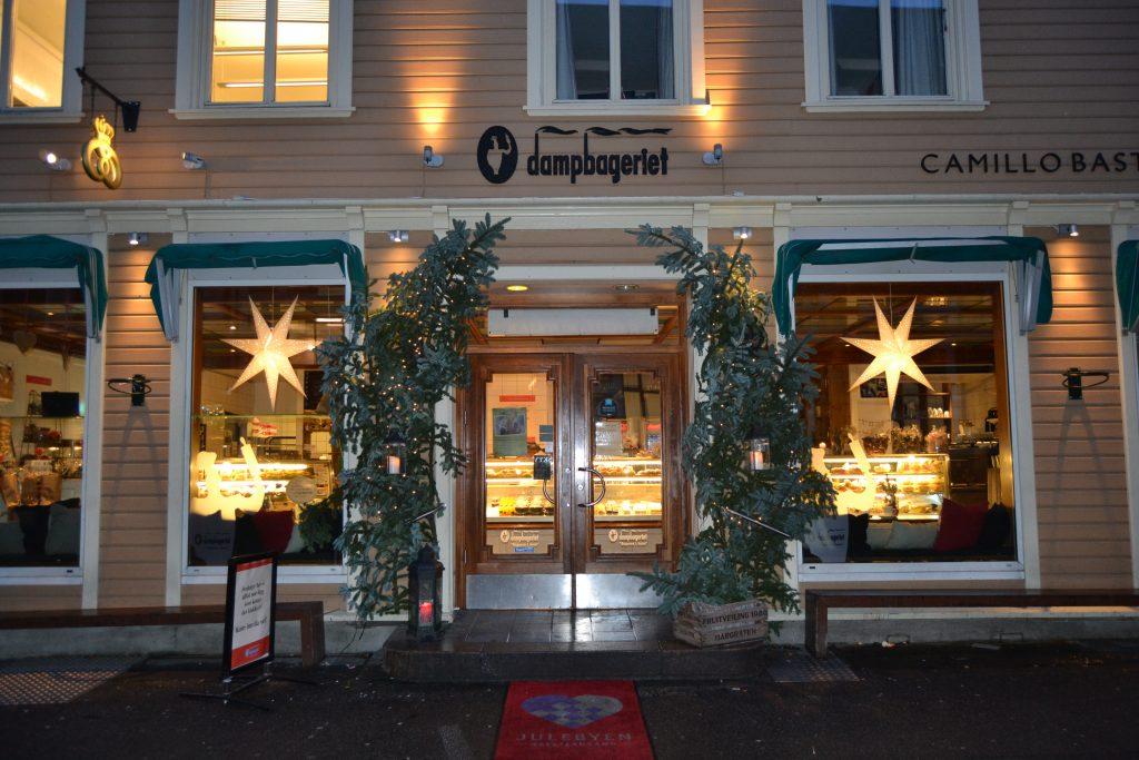 Julebaksten kan du kjøpe på Dampbageriet. Foto: E. Høibo©Visit Sørlandet.