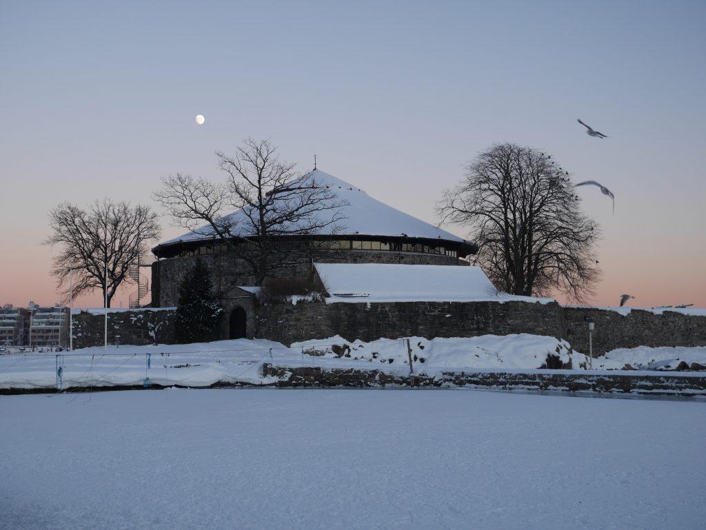 Designers julemarked på Festningen i Kristiansand. Foto: E. Høibo©Visit Sørlandet