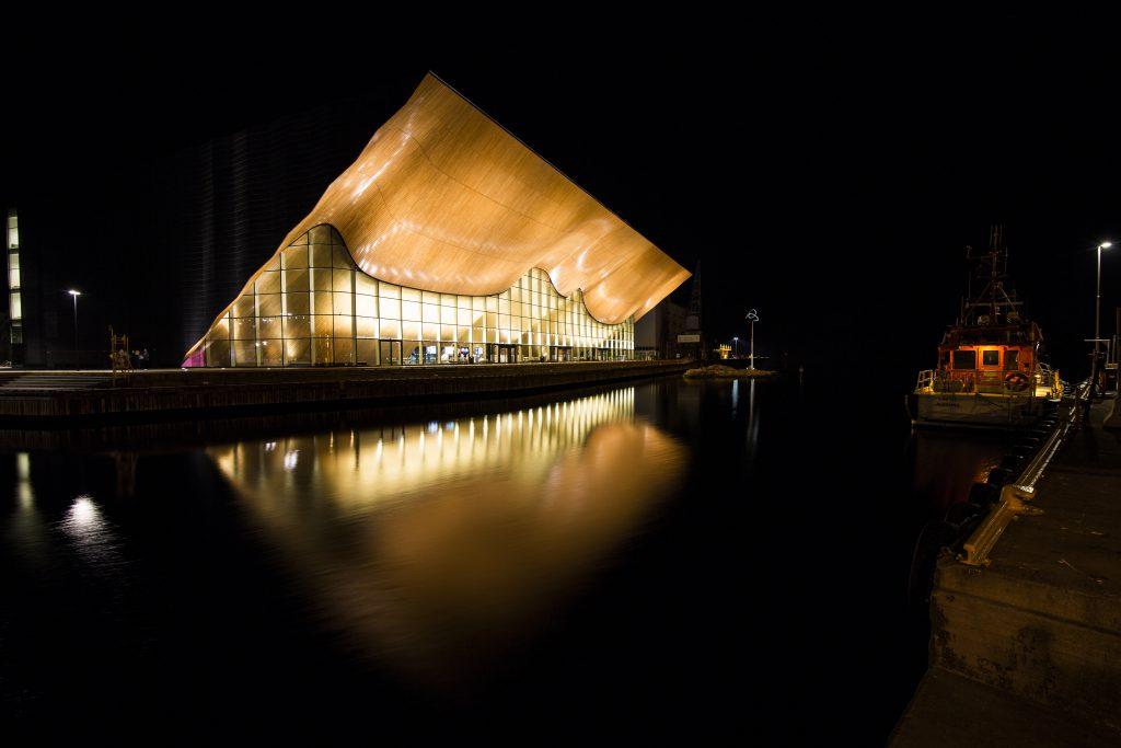 Kilden teater- og konserthus er det perfekte stedet for din konferanse. Foto: Adam Read©Visit Sørlandet