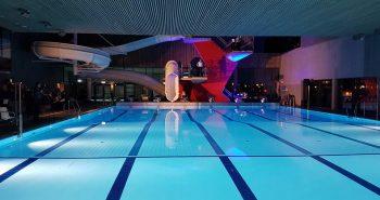 Svømmebasseng i Kvinabadet