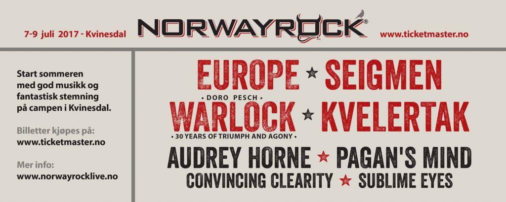 Norway Rock Festival 2017