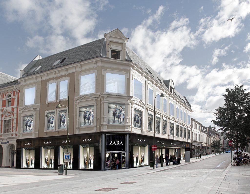 Klesgiganten Zara åpner i Kristiansand i oktober. Illustrasjonsfoto.