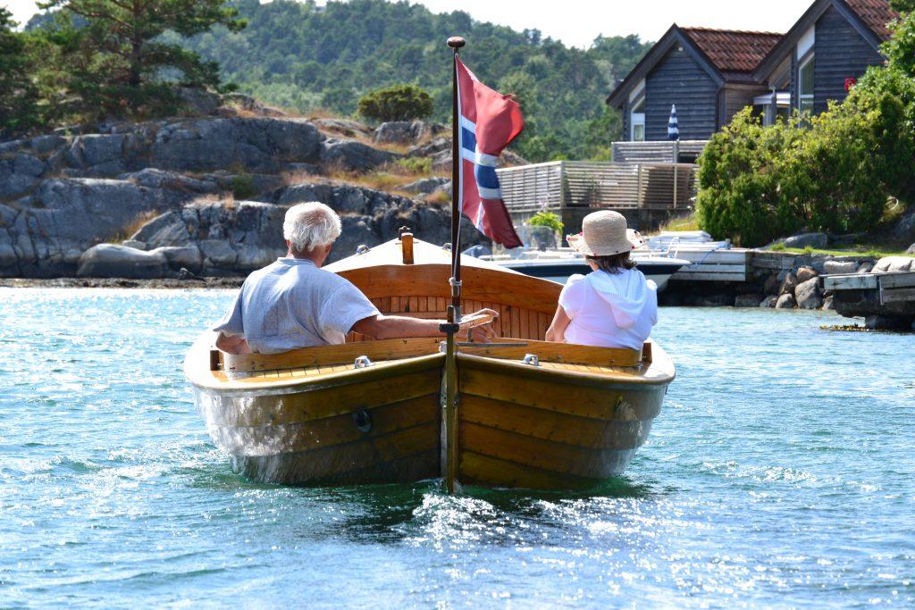 Nå kan du starte båtferien direkte fra den nye brygga på Kjevik. Foto: Elisabeth Høibo©Visit Sørlandet.