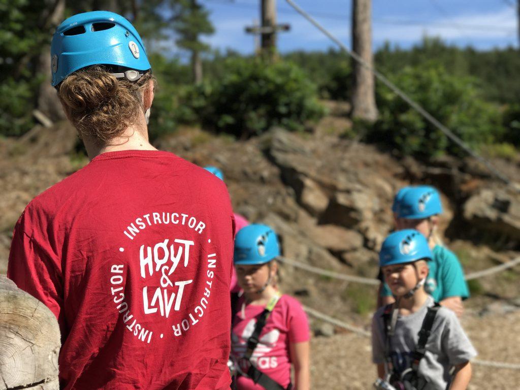 Instruktør i Høyt og Lavt Kristiansand
