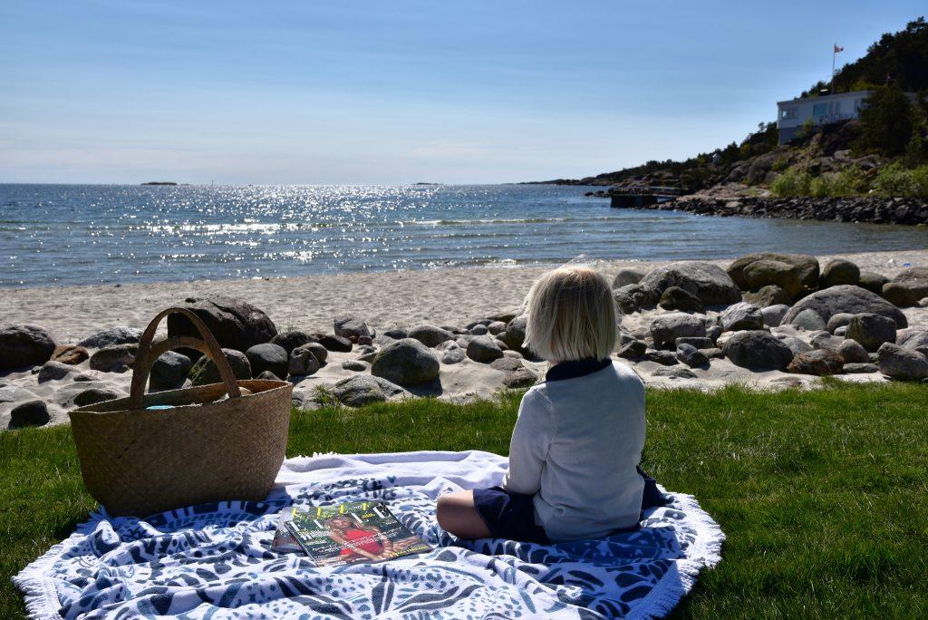 På Sørlandet går det ann å finne ei ensom strand. Foto: E. Høibo©Visit Sørlandet