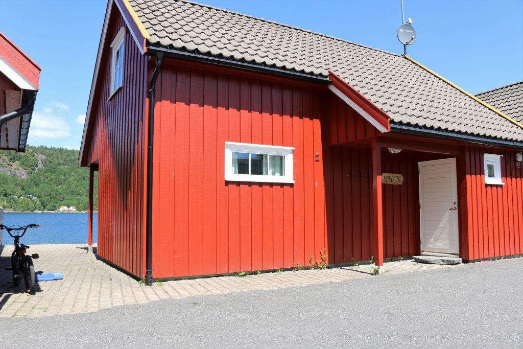 CAMPINGE 2017 red hytte bilde Risør Resort IMG_7863