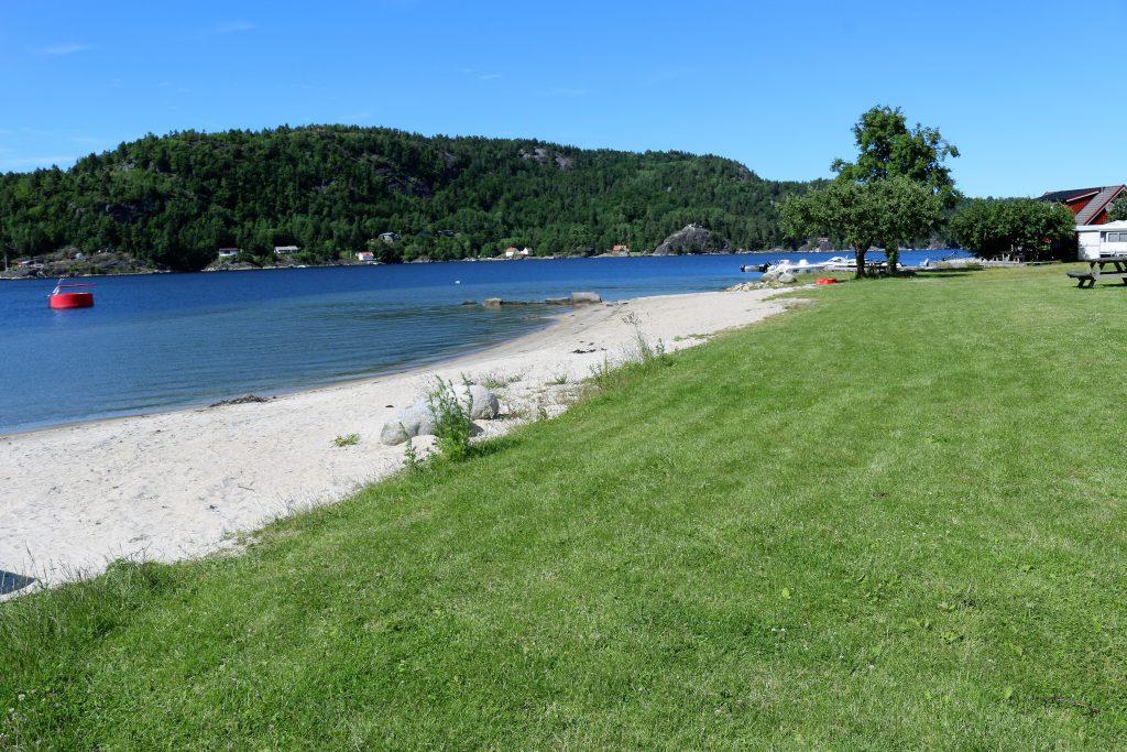 CAMPINGE 2017 red strandplen bilde Risør Resort IMG_8003