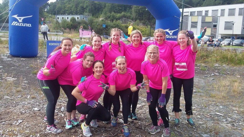 Dirty Girls Mud Run Kristiansand 2017 Island Runners