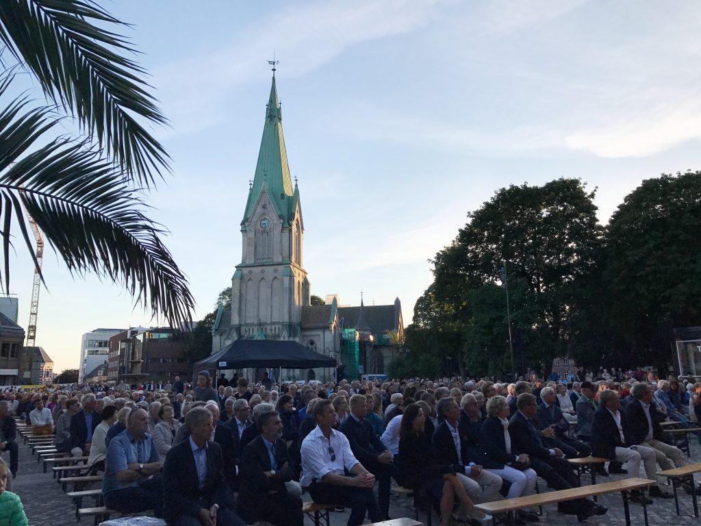 Åpningskonsert på Torvet i Kristiansand