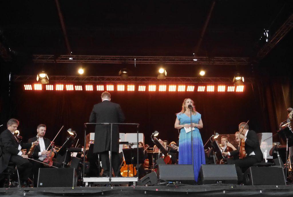 Helene Bøksle og Kristiansand Symfoniorkester