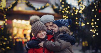 Gi barna minner og julekos i Julebyen Kristiansand. Foto: Victoria Nevland@Visit Sørlandet