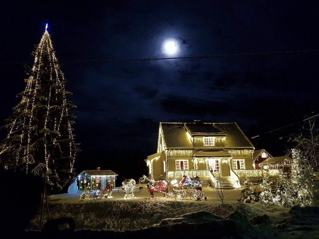Julekrysset på Hornnes