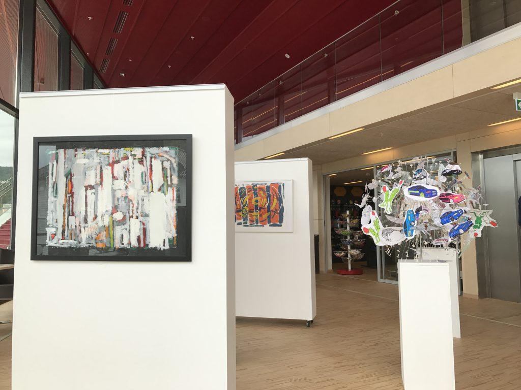 Kunstutstilling på Spira Flekkefjord Kulturhus