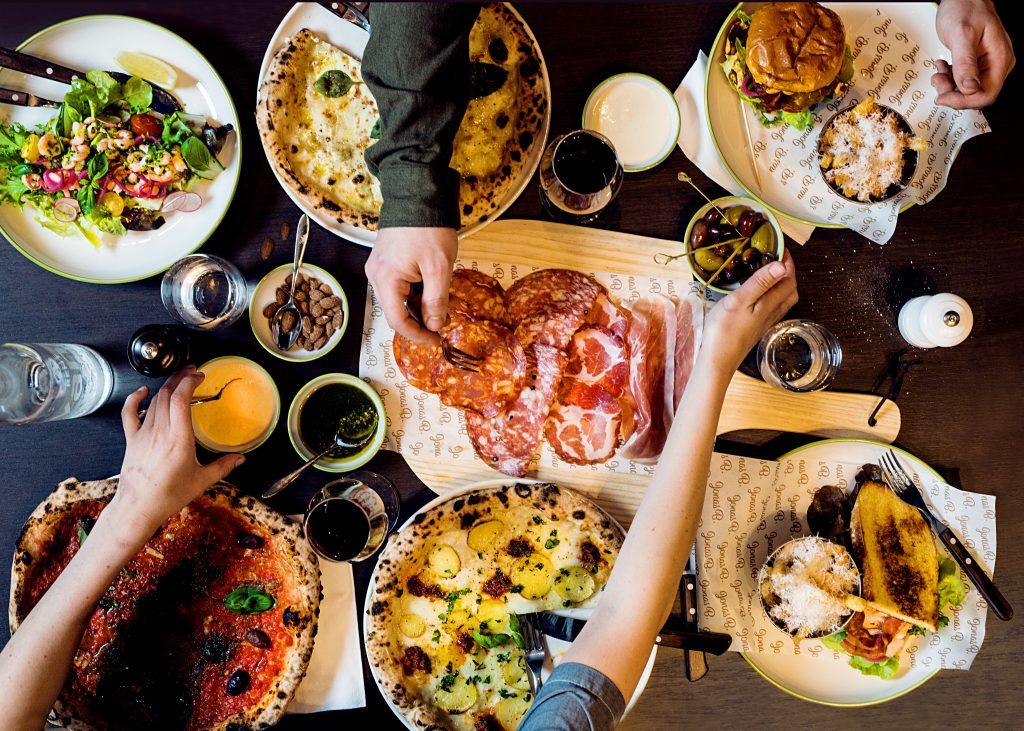 Mat og drikke på Jonas B. Kristiansand