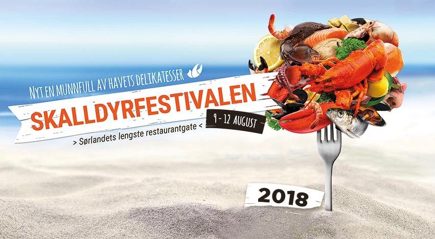 Skalldyrfestivalen Mandal 2018