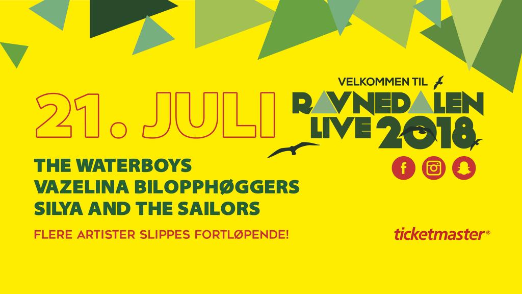 Ravnedalen Live Kristiansand 2018