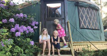 Overnatt i yurt
