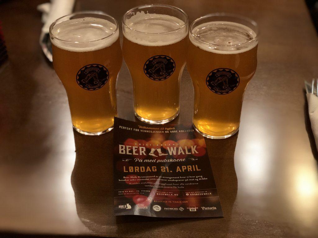 Beer Walk innom Victoria Pub i Markens gate. Foto: E. Høibo©Visit Sørlandet