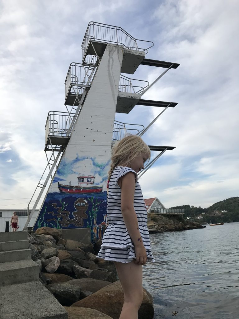 Stupetårn ved Badehuset i Farsund