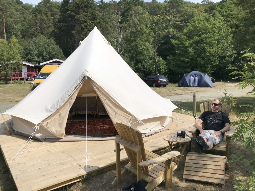 Glampingtelt Lomsesanden Camping