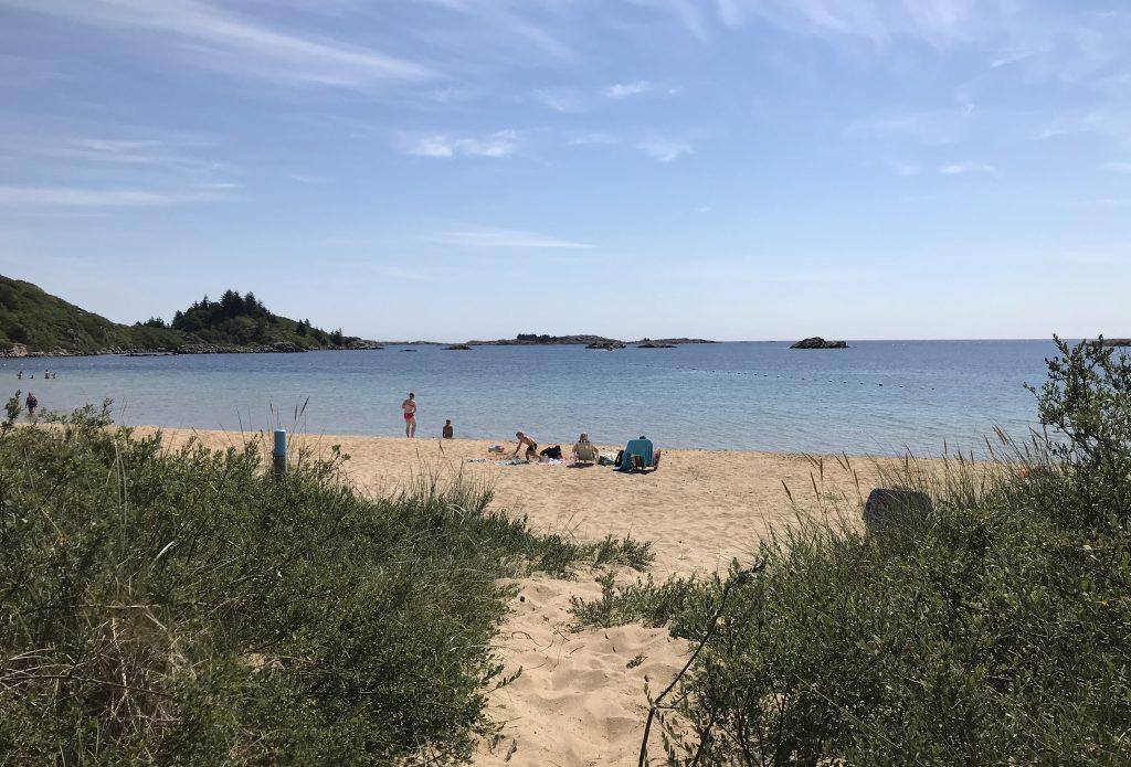 Lomsesanden strand