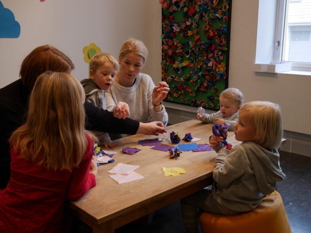 Barna fremtidens planleggere. Foto: E. Høibo©Visit Sørlandet