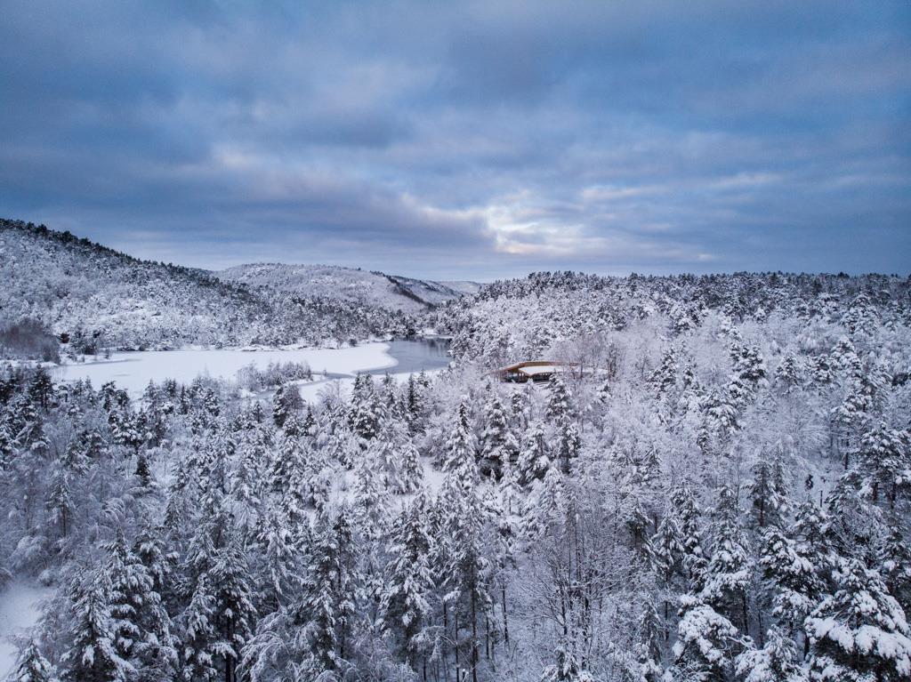 Turhytta i Jegersberg er allerede før åpning blitt et populært sted for Kristiansandere.