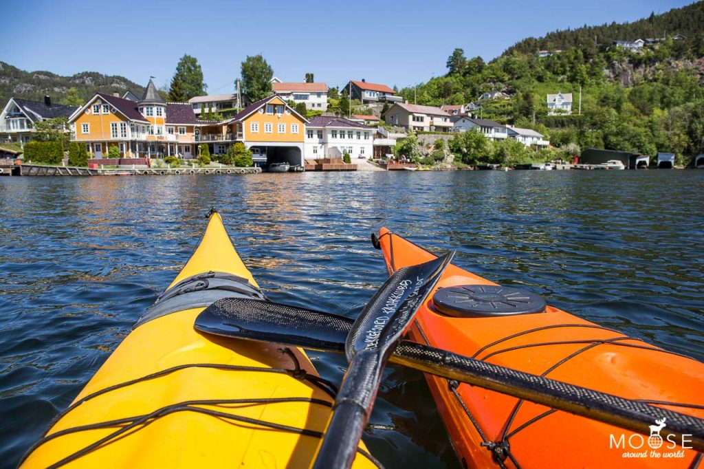 Kayaking Flekkefjord - Photo: Moose around the world.
