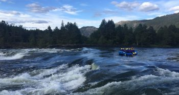 Rafting with TrollAktiv in Evje, Southern Norway.
