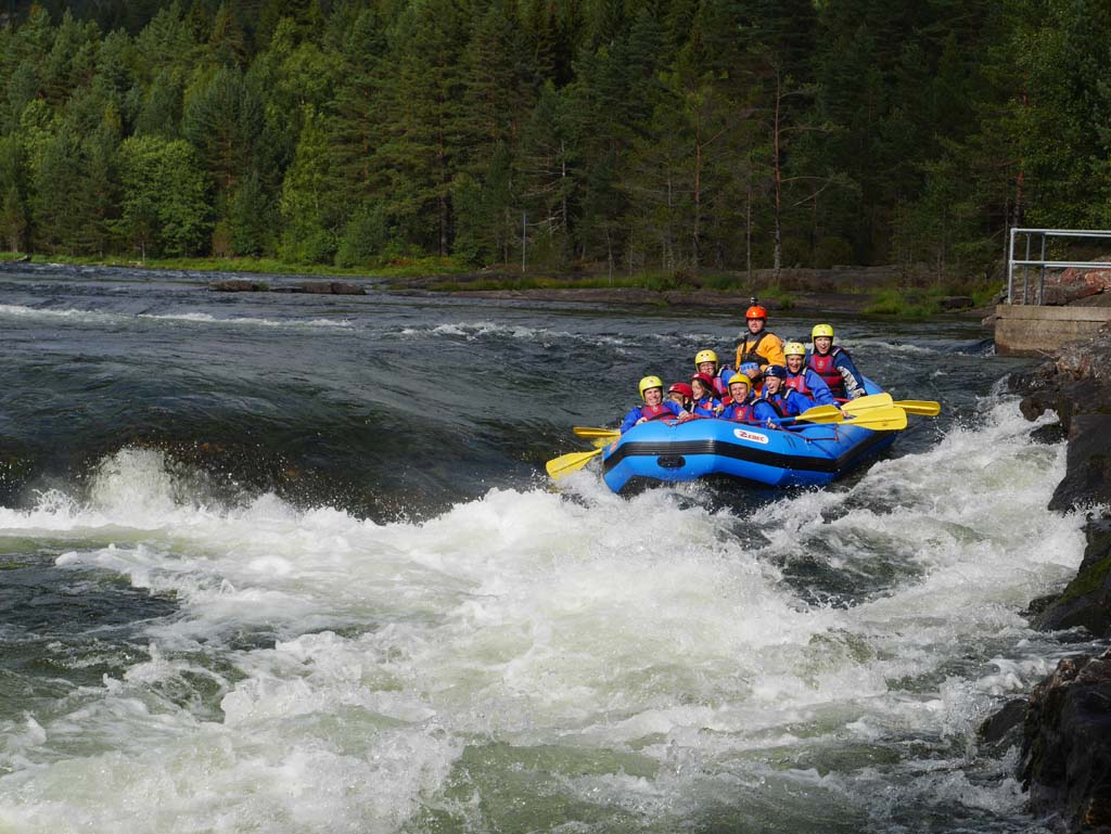 Rafting at Troll Aktiv.