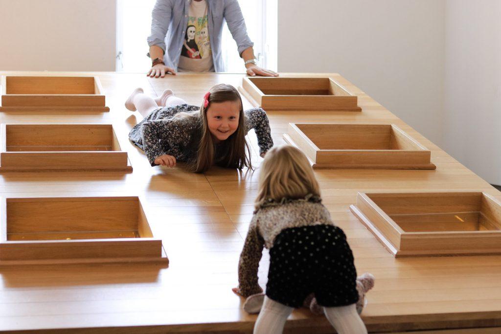 Barnas museum på Sørlandets kunstmuseum.