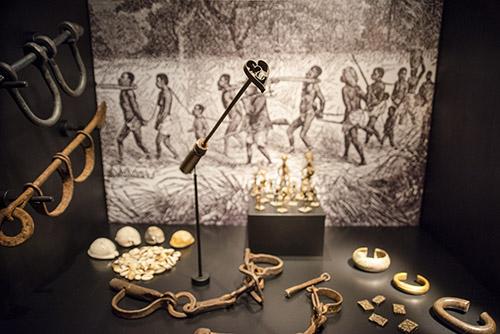 Slavelenker fra skipet Fredensborg. Foto: KUBEN/Gerd Corrigan