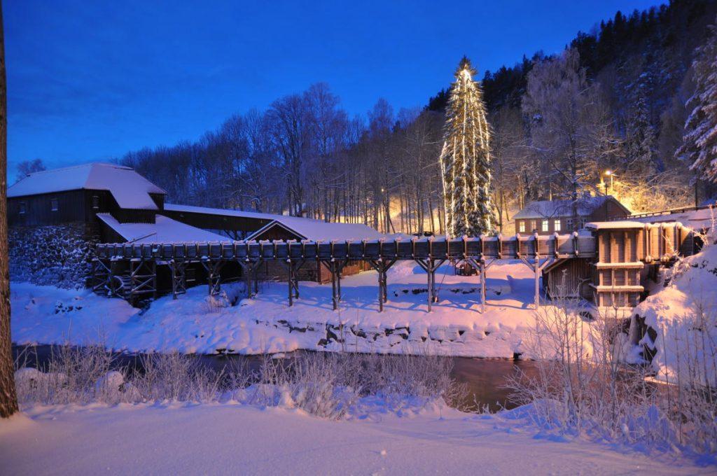 Skikkelig koselig julestemning på Næs jernverk