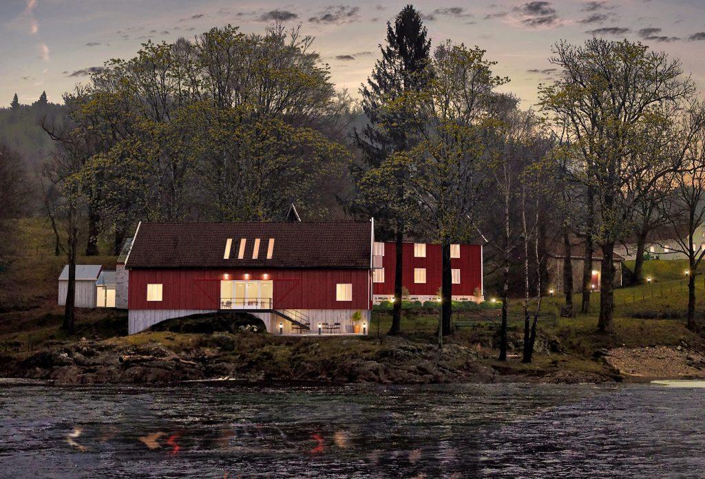 Boen gård får ny vinkjeller, overnattingsmuligheter og konferansesal