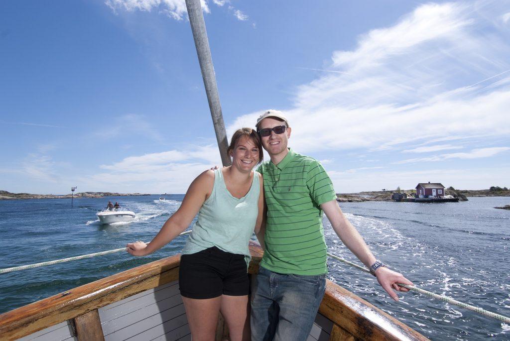 På båttur i Grimstad Foto Peder Austrud©Visit Sørlandet